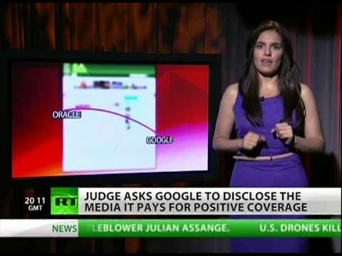 Google vs Oracle: who bought more journalists?