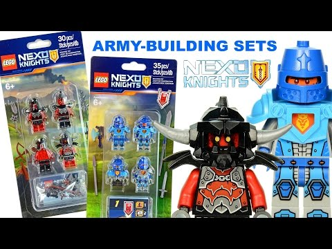 LEGO® NEXO KNIGHTS™ 2016 Royal Guards & Monsters Army-Building Minifigure Sets