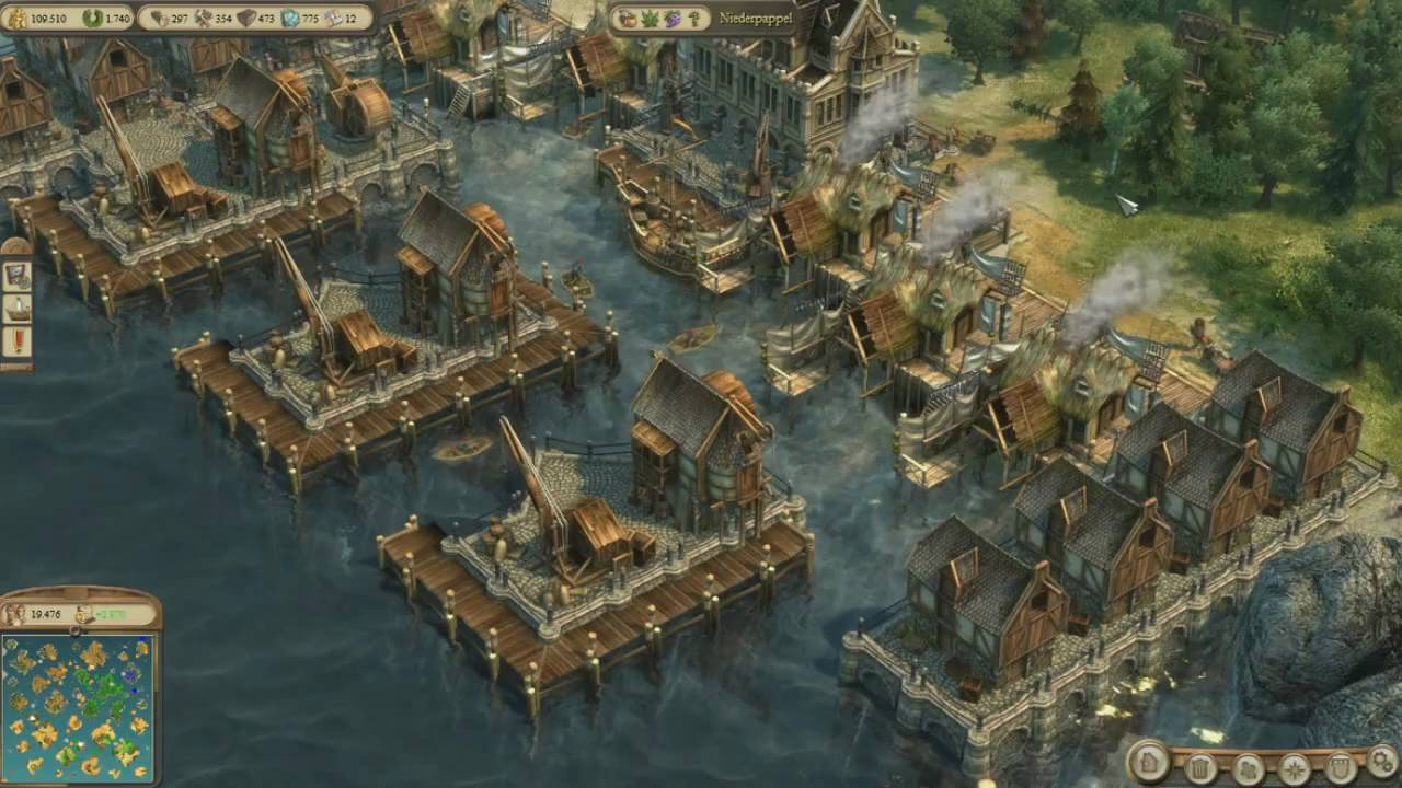 Anno 1404 tutorial harbour youtube for Anno 2070 find architect