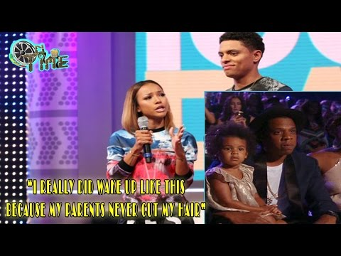 Karrueche Tran disses Blue Ivy's hair on 106 and Park - Blame BET for Jokes!