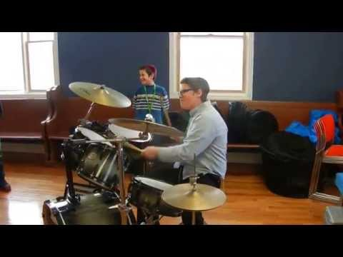 Wonderdrums at Maimonides school