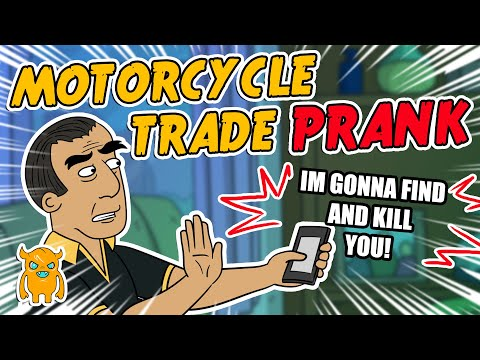 Motorcycle Trade Prank - Ownage Pranks