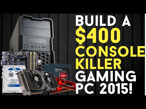 Build A $400 Console Killer Budget Gaming Pc Build 2015   Gta 5 Ready