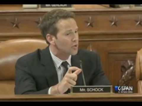 Rep. Aaron Schock gets HUGE APPLAUSE when calling out OFA / Dems - IRS Scandal