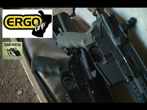 The Best AR-15 Pistol Grip:  Ergo Grips