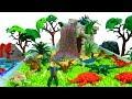 쥬라기월드 공룡 장난감 15 피규어 멀티팩 장난감 화산폭발 슬라임 모래놀이