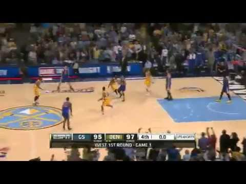 Golden State Warriors Vs Denver Nuggets - NBA Playoffs 2013 Game 1 - Full Highlights 4/20/13
