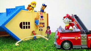 PAW Patrol toys. The pups save the day!