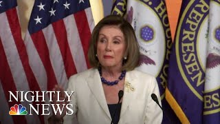 Nancy Pelosi Announces House Moving Forward With Articles Of Impeachment | NBC Nightly News