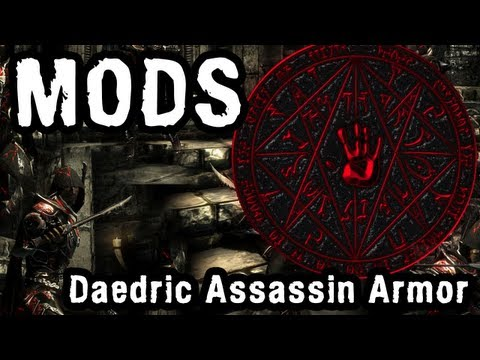 Skyrim Mod: Daedric Assassin Light Armour