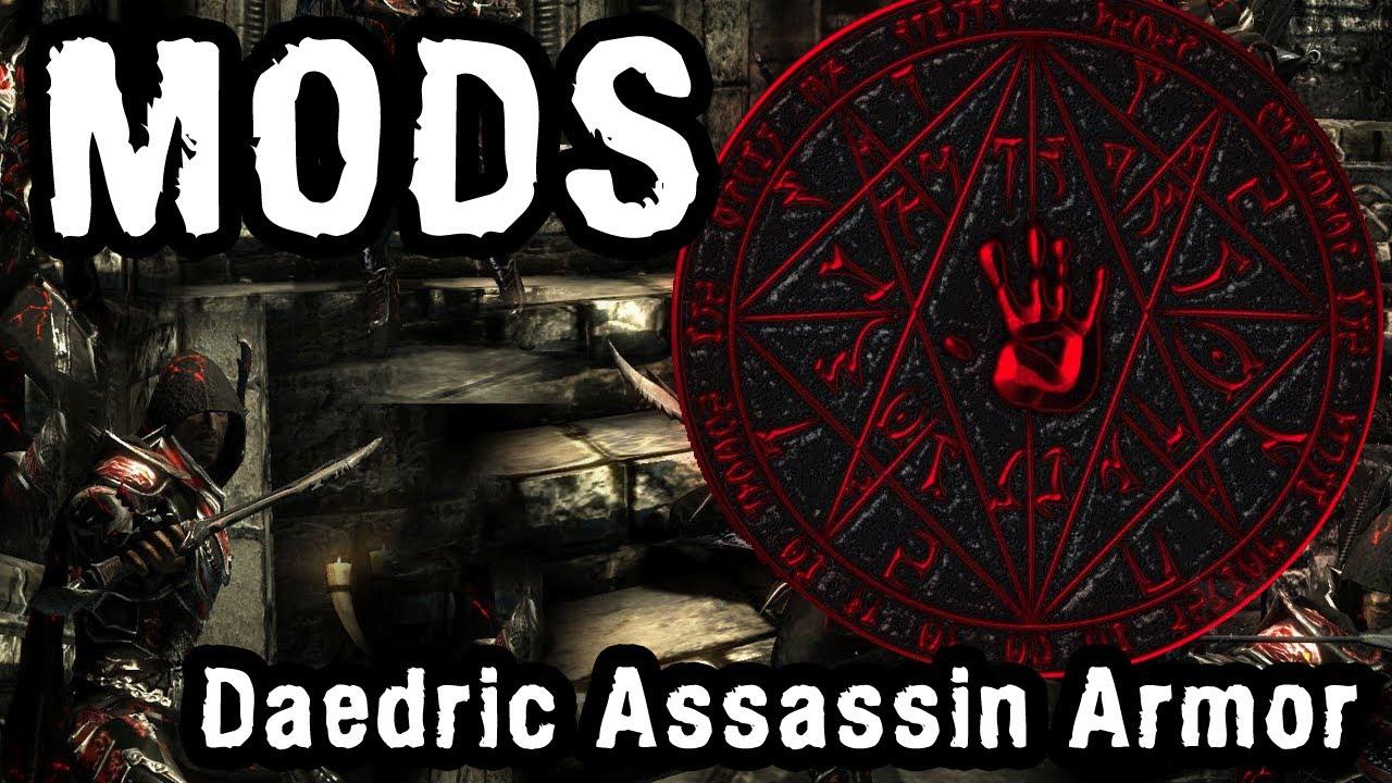 Skyrim Assassin Armor Mods Skyrim Mod Daedric Assassin