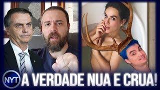 Nando Moura recebe DINHEIRO do Bolsonaro!? Felipe Neto é chamado de CORNO e polêmica foto da Kéfera