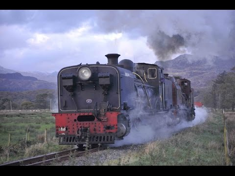 WHR NGG16 BEYER-GARRATTS Nos. 87 + 138 RECREATE A SOUTH AFRICAN FREIGHT ON THE WELSH HIGHLAND RLY