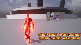 The Flash Fan Game - Star Laboratories