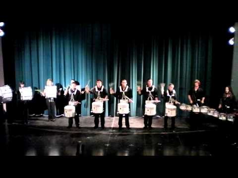 2010 Cadences - Adams State College Grizzly Drum Line