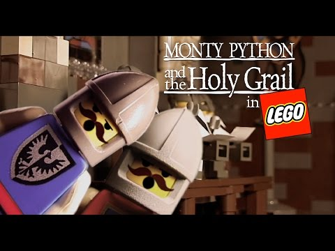 Monty Python and the Holy Grail in Lego. HQ