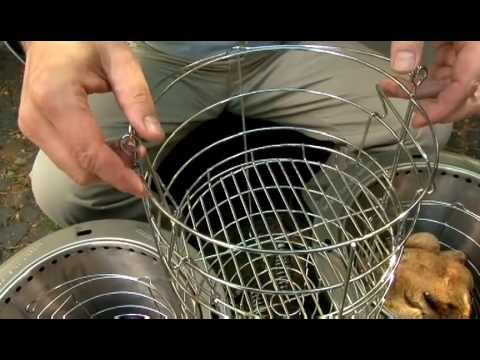Easy Out Basket for The Big Easy Oil-Less Turkey Fryer from Char-Broil