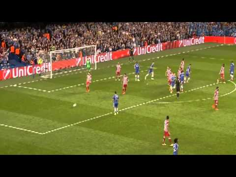 Thibaut Courtois Amazing save vs Chelsea 30-04-2014 HD