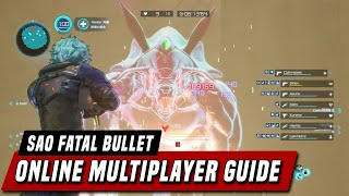 How Co-Op Multiplayer Works In Sword Art Online: Fatal Bullet