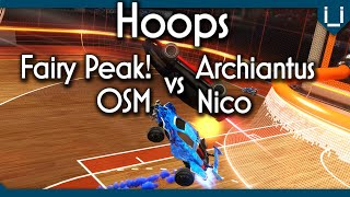 OSM & Fairy Peak! vs Hoops Specialists | Rocket League 2v2