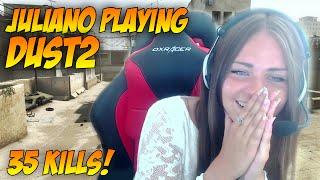 CSGO | juliano playing de_dust2 - 35 kills!