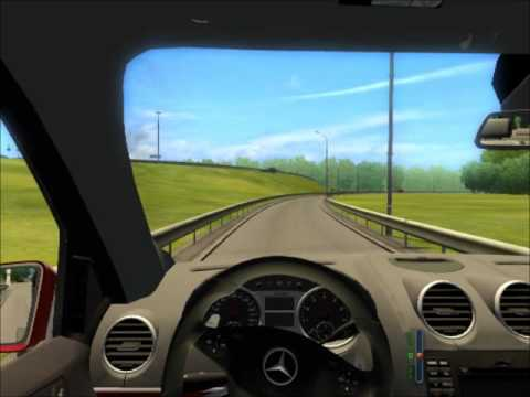 City Car Driving 1.2.2 Merzedes-Benz ML6