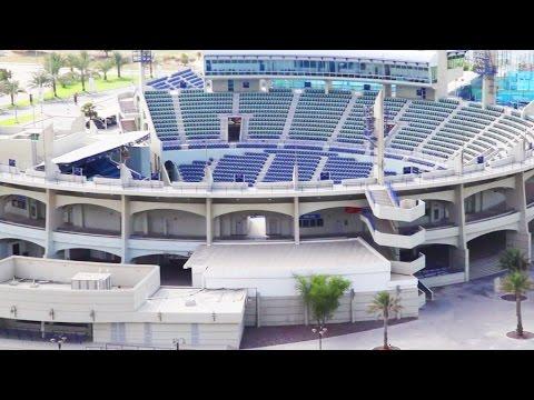Zayed Sports City Tennis Zayed Sports City a Video