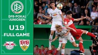 RB Leipzig vs. VfB Stuttgart | Full Game | U19 DFB Cup | Final