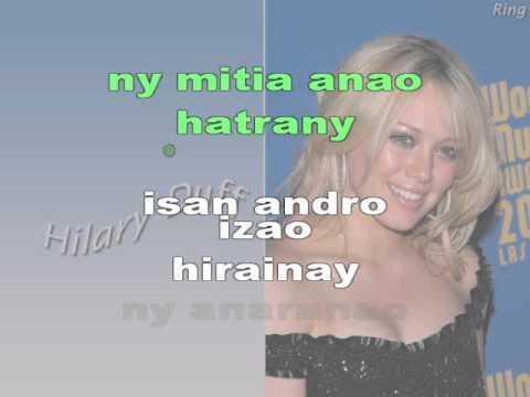 hiraina NANIE (karaoke)