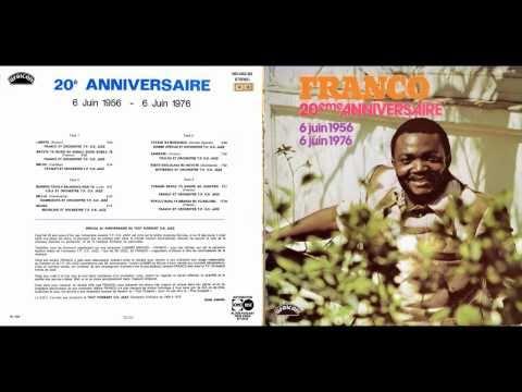 20ème Anniversaire - Franco & le T.P. O.K. Jazz 1976