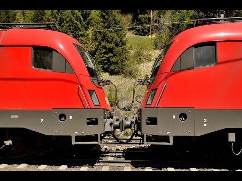 Hoppla!!  Stahlzug mit ANFAHR-PROBLEMEN am Brenner