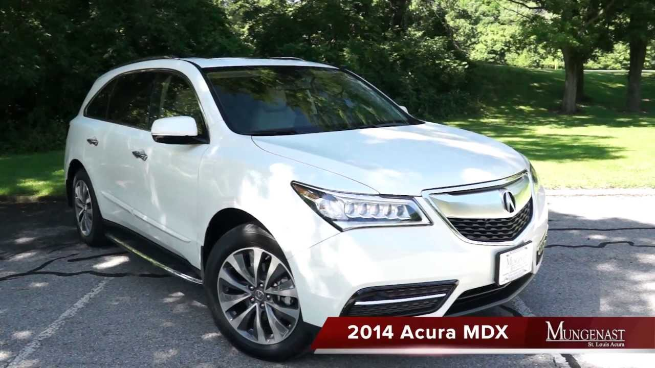 2014 Mdx Test Drive Review Youtube