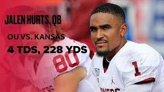 Jalen Hurts Gets Touchdowns However Needed, Puts On Show Against Kansas