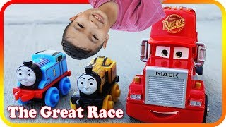 The Great Race Thomas vs Disney Cars - TigerBox HD