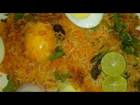 How to make egg biryani // Egg biryani recipe in Telugu