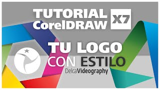 (AVANZADO) TUTORIAL 20 Corel DRAW X7: DISEÑA LOGOS CON ESTILO/Creating stylish logotypes