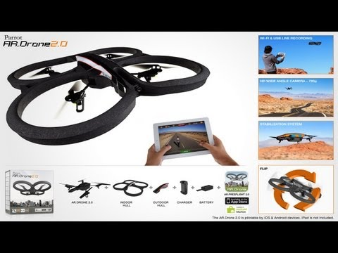 AR Drone 2.0 Detailed Review & Technical Difficulties