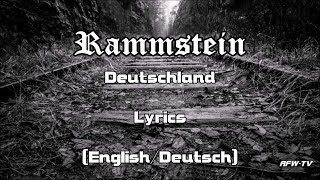 Rammstein - Deutschland (Lyrics[English/Deutsch])