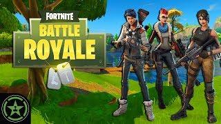 Let's Play - Fortnite: Battle Royale - AH Live Stream