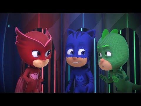 PJ Masks em Português   Novos episódios    Compilação   Desenhos Animados