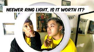"NEEWER 18"" LED BEST RING LIGHT (UNBOXING)"
