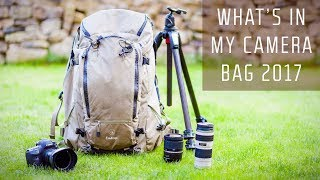What's in my Camera Bag 2017   Landscape Photography Edition