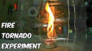 Fire Tornado with Plastic Bottle - Science Experiments