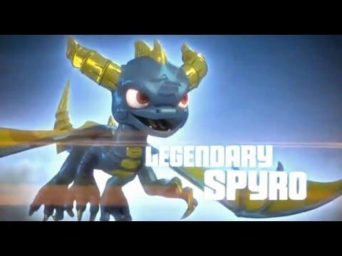 Skylanders Heroic Challenge - Legendary Spyro