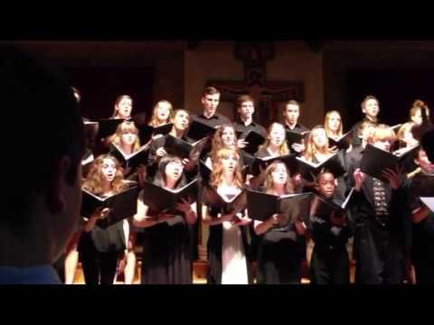 Shenandoah by Trinity school at Greenlawn chamber choir - 05/26/2013