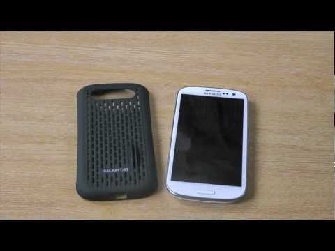 Genuine Samsung Galaxy S3 Mesh Vent Case