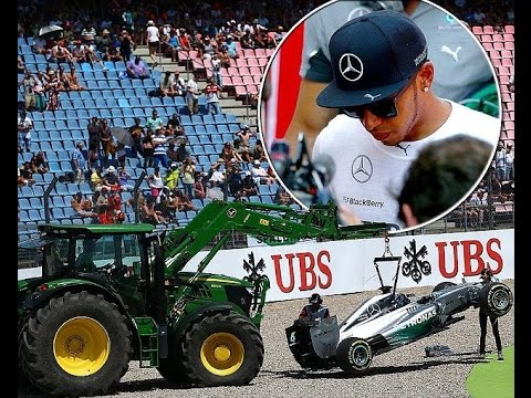 Nico Rosberg on Pole for German Grand Prix after Lewis Hamilton Crashes Out!!!