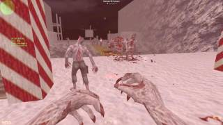 Counter-Strike: Zombie Escape Mod - ze_Jurassickpark3_Christmas (SOLOWIN) on EVILZCS