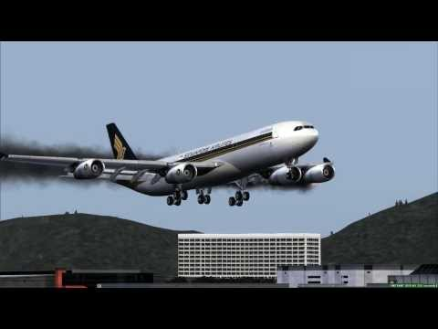 Singapore Airlines A340 Emergency Landing Hong Kong