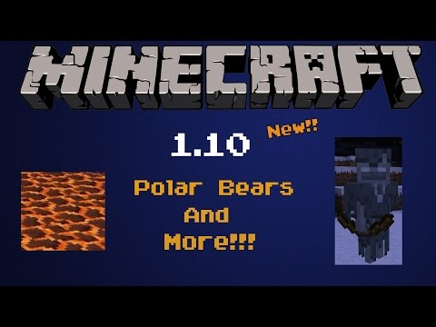 Minecraft 1.10 Update News | Polar Bears, Ghost Skeletons, and More!!!